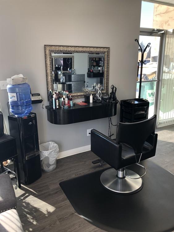 established salon business red - 4
