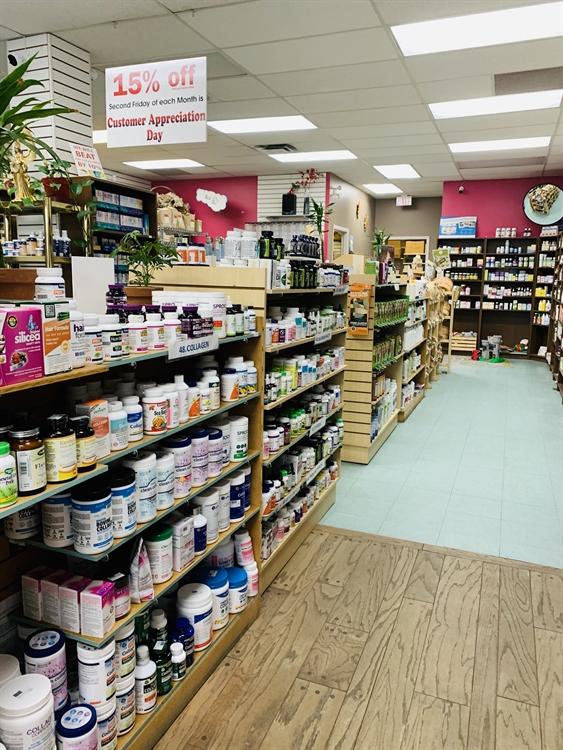 health store business british - 2