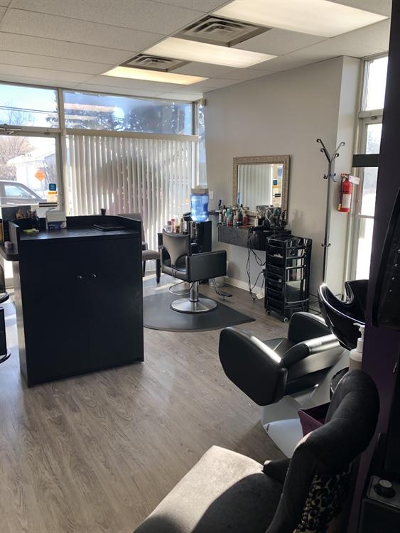 established salon business red - 6