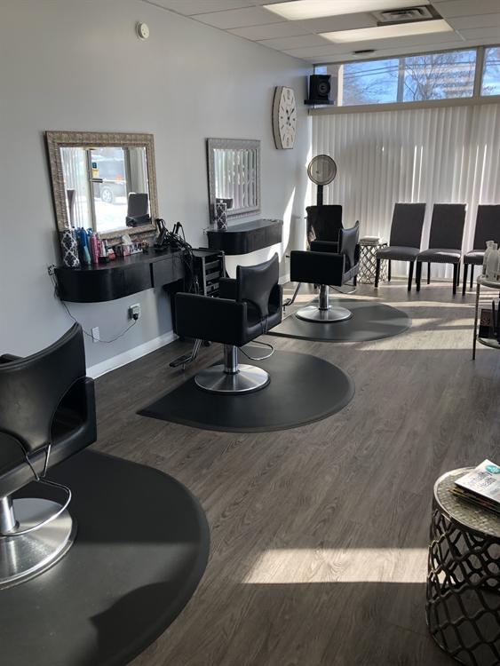 established salon business red - 5