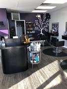 established salon business red - 1