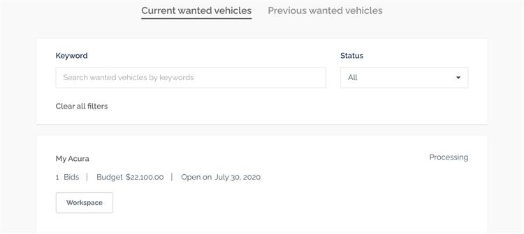 unique online automotive marketplace - 2